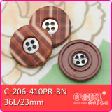 Il 4-Holes Combined Polyester ABS Printed Button