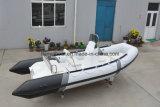 Battello pneumatico aperto del materiale del PVC della barca 520 della nervatura del pavimento di Liya
