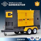 50kw/62,5 kVA Denyo moteur silencieux générateur diesel de conception