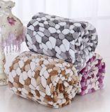 100% Polyester corail coloré Couverture en laine polaire avec une bonne qualité