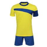 カスタム子供はフットボールのジャージーの安いサッカーのスーツを昇華させた