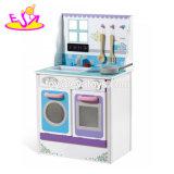 Новая конструкция дошкольного претендует играть деревянные мини-кухня, игрушки для детей W10c344