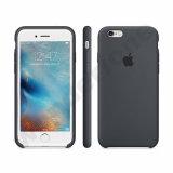 El iPhone la mejor calidad de silicona original cubierta de la caja de teléfono celular móvil