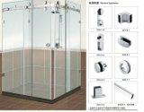 Вспомогательное оборудование B004 раздвижной двери ванной комнаты стеклянное для комнаты ливня