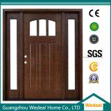 Personnaliser la porte d'entrée en bois Craftsman pour Villa