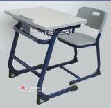 플라스틱 Single Desk 및 Student School Furniture의 Chair