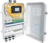 Divisor del PLC del rectángulo del ABS de FTTH 1X16 con el conector del Sc
