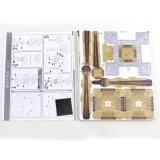 Juguetes educativos de madera del rompecabezas Jigsaw de los kits de la configuración de los bloques huecos 3D de los niños