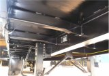40FT Flachbettsattelschlepper 3axles (Schwarzes) für lange Fahrzeuge