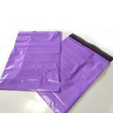 Kundenspezifische purpurrote Farben-Polywerbungs-sendender verpackenbeutel-Postumschlag