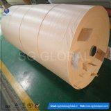 Comercio al por mayor blanco tejida de polipropileno recubierto de tejido de envoltura de fardo