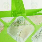3D, das mit PS-Beschichtung sichBildet, kann 20kg kundenspezifischen Druck Recycable nicht gesponnenen Beutel (My-031) anhalten