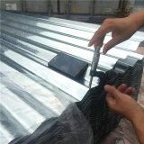 Le matériau de construction a ridé la tôle d'acier galvanisée couvrant la feuille
