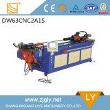 La cintreuse hydraulique de pipe de la coutume solides solubles de Dw63cncx2a-1s usine la série de cintreuse