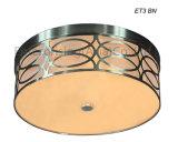 Et3は台紙によってブラシをかけられるニッケルのシャンデリアの照明LED天井灯をフラッシュする