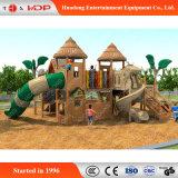 販売(HD-MZ024)のための普及したおかしい子供のスライダの遊園地の木のスライド