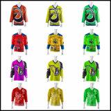 Jersey faits sur commande bon marché de hockey sur glace de sublimation de qualité/bon marché vitesse d'hockey