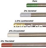 Gewicht-20 de Elektroden van het wolfram, TIG de Elektrode van het Wolfram van het Lassen