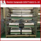 Llanura de la fábrica de aluminio Aluminio/medidor de luz para el radiador de aluminio de aletas de la lámina de aire acondicionado 1100 1200 8011 3102 Templar H22 H24 H26 0.02-0.05mm