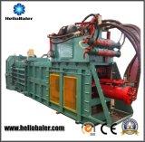 Здравствулте! машина бумаги утиля Baler автоматическая гидровлическая тюкуя с транспортером для неныжной бумажной коробки рециркулируя Hfa10-14