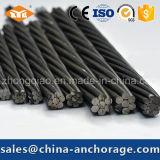 Поднапрячь стренга и провод Prestressed бетона 12.7mm