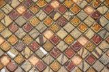 Le modèle rustique de mosaïque en verre couvre de tuiles Roma (GH0001)