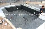 El caucho EPDM del tejido de fondo de los materiales de material para techos 1.2/1.5m m impermeabiliza la membrana