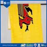顧客用ベロアの国旗の印刷のビーチタオル
