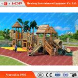 판매 (HD-MZ023)를 위한 아이들 슬라이더 위락 공원 나무로 되는 활주