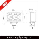 12V 24V 6 Polegada Rectângulo 45W LED Epistar tratores caminhões Faróis para Veículos de Trilhas