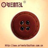 24L-44L Four-Hole Combination Button con Fleece italiano per Coat
