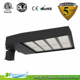300 vatios ETL Dlc Qpl Listed Área LED Área de aparcamiento Pole Light Fixture Luz LED Shoebox