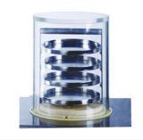 Aufrechter Frost-Trockner-Lyophilisator mit dem Zustöpseln der Regale, trocknende Flaschen Bk-Fd18PT