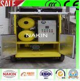 Beweglicher Typ Vakuumtransformator-Öl-Reinigungsapparat mit Schlussteil (1800L/H)