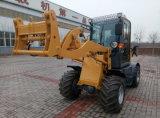 Mini chargeur Zl12 de roue de Samll de constructeur de chargeur de la Chine