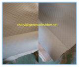 Het grijze RubberBlad van het Muntstuk met Certificaat PAHs