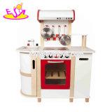 Новые популярные играть дома деревянная большая кухня, игрушки для детей W10c345