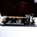 Jeu en pierre de plateau de thé de chinois traditionnel meilleur