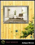 Cornice di legno intagliata mano decorativa/blocco per grafici dello specchio