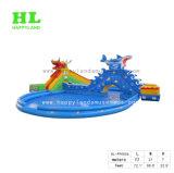 子供のための巨大で膨脹可能な水遊園地