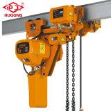 Controle remoto sem fio 1 Ton talha de corrente elétrica com carrinho
