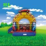 Estilo de banana personalizados Hot-Selling Bouncer inflável com pequeno deslize para as crianças pulando
