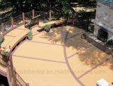Revestimento composto plástico de madeira Anti-UV da estratificação do Decking do sólido WPC do fornecedor de China