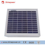 5W Mini-Poli Módulo Solar/Painel Solar para o uso da luz solar