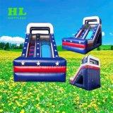 子供のための車の主題の遊園地の膨脹可能なスライド