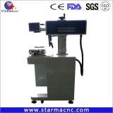 金属および堅いプラスチック彫版のためのStarmacncの高品質のIpgのファイバーレーザーのマーキング機械
