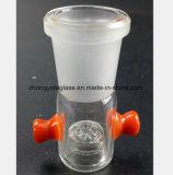 Glasfilter-Unebenheit-Wasser-Rohr des Huka-Rohrfitting-Weibchen-18.8mm