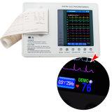 Máquina EKG-903A3 do electrocardiógrafo ECG de Digitas da canaleta do certificado 3 do Ce com software de análise -- Martin