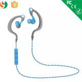 Écouteur stéréo de Bluetooth du sport 2016 d'oreille de crochet d'écouteur de vente en gros sans fil neuve d'écouteur