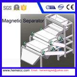 Separatore magnetico asciutto per i minerali attivati del quarzo del carbonio